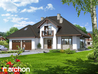 archonplus.com Large house plans (over 200m2)
