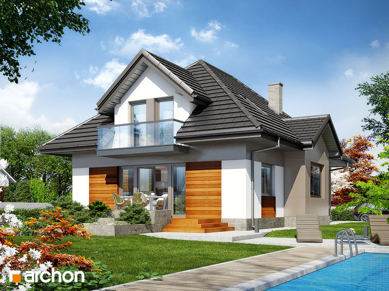 Archonplus Com House Plans In Two Styles